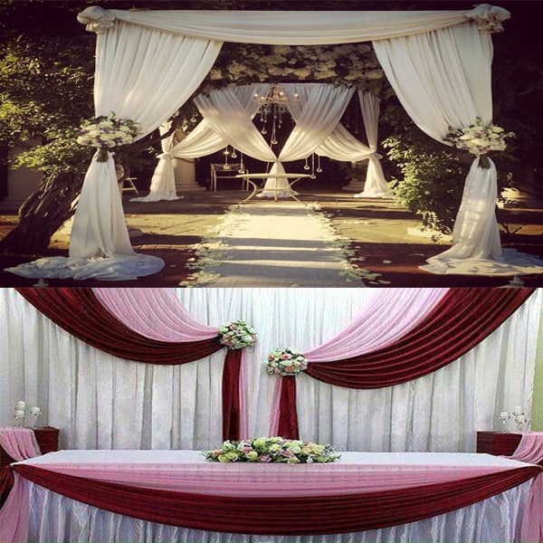 Pipe & Drape Rental Sales & Services wedding pipe and drape led drapes