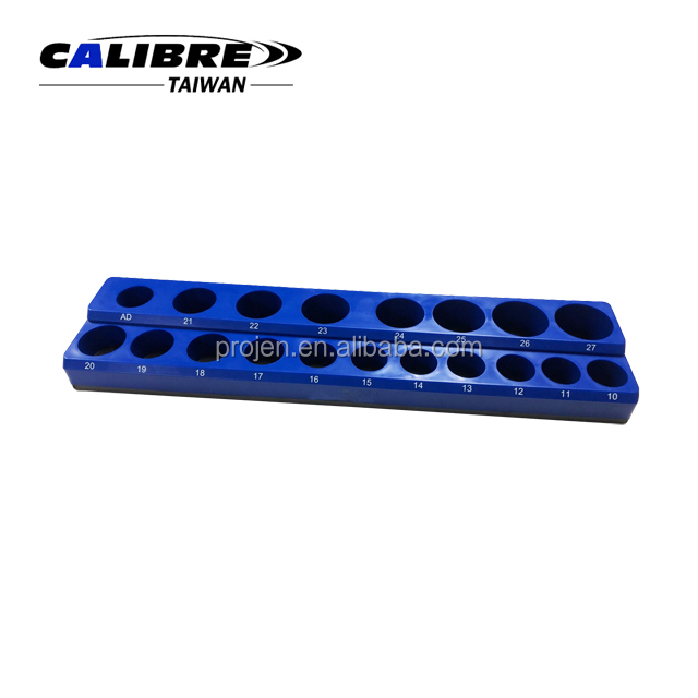 "CALIBRE 19PC 1/2""Dr. Metric Deep & Shallow Magnetic Socket Holder"