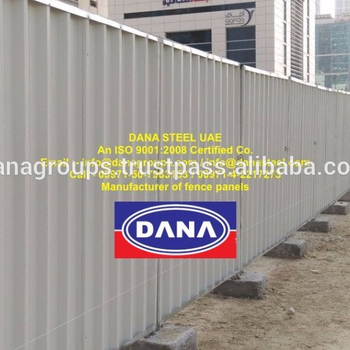 Construction Site Fence Shinko Hoarding Panel Supplier In