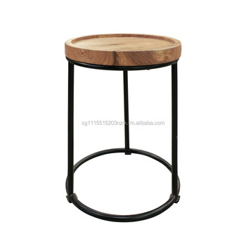 Side Table Teak.T30 Round Side Table Industrial Buy Side Table Industrial Table Teak Table Product On Alibaba Com