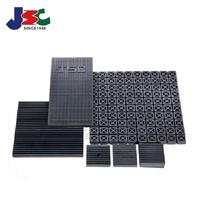 Rubber shock absorber anti-vibration pads