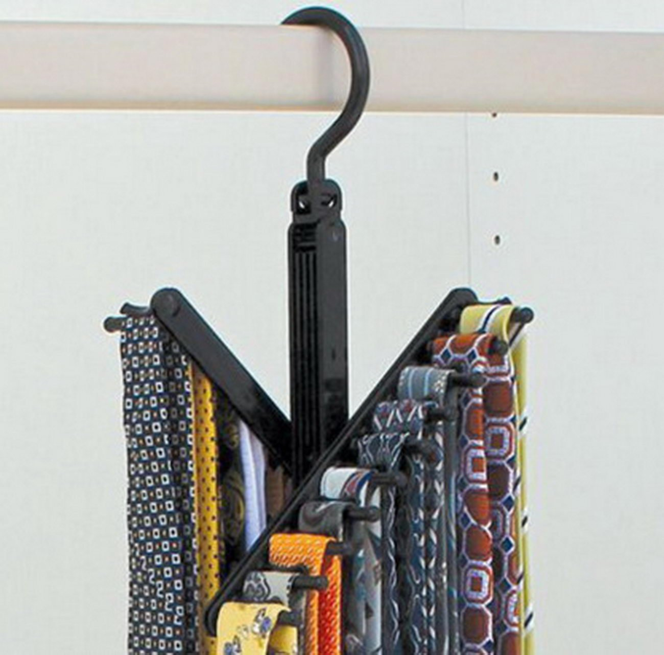 Donfohy Plastic Scarf Rack 606aad 20 Rows Tie