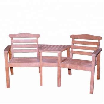 Indonesia Teak Furniture - Dual Arm Chair with Picnic Table