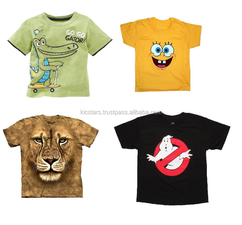 Children Clothing Baby Shirt Custom Printing Kids T Shirt Buy New Look Cartoon T Shirtbaby Fancy T Shirtskids Branded T Shirts Product On