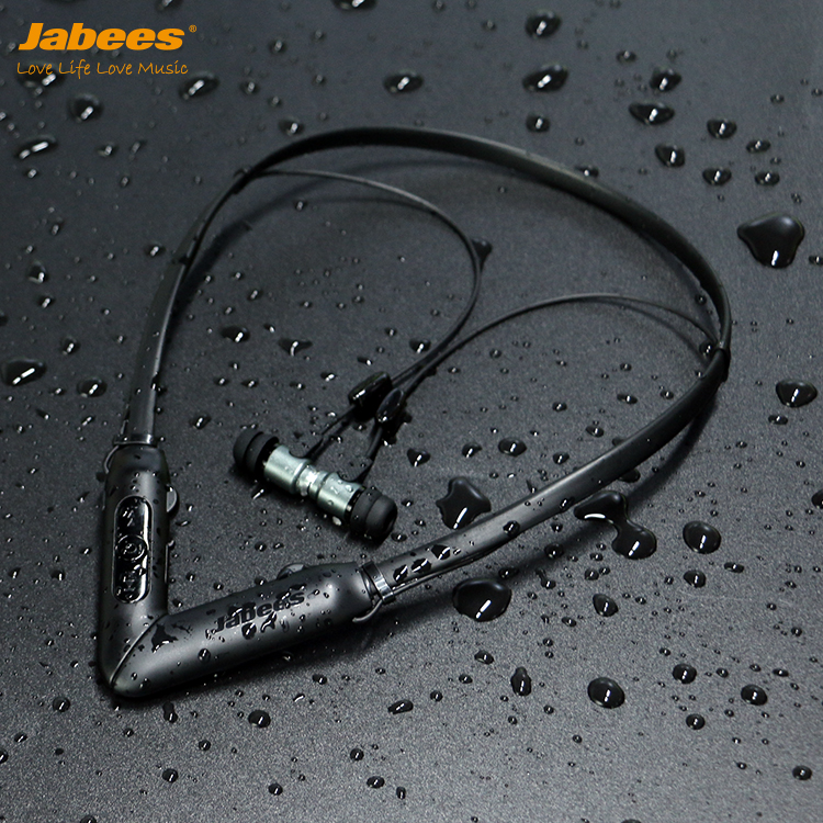 Jabees BHearing China Mini Rechargeable NeckBand Noise Cancelling Hearing Amplifier Medical Earphone - idealBuds Earphone | idealBuds.net