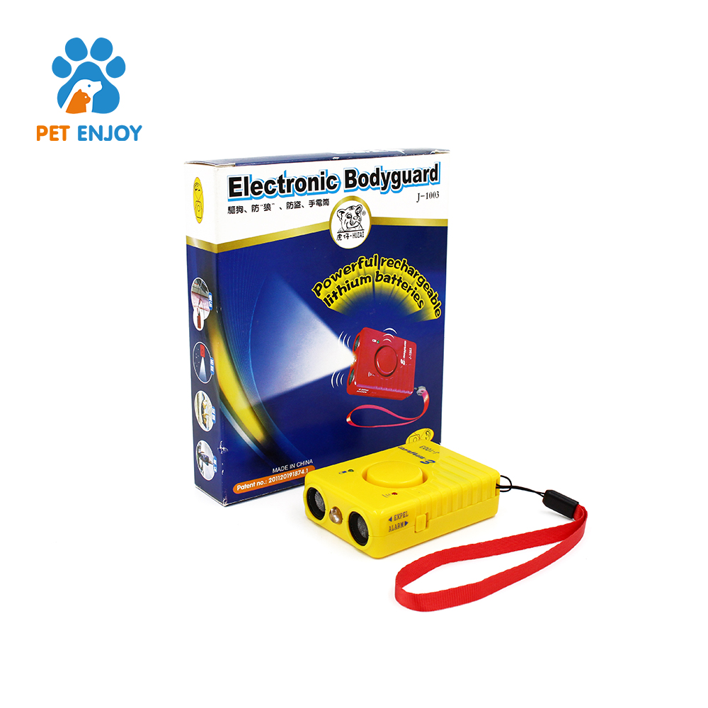 Amazon vendedor top 2018 Dual channel controlador de cão eletrônico ultrasonic handheld ultrasonic dog bark dissuasão
