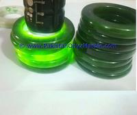 100% natural nephrite jade green bangles bracelets from Pakistan