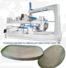FLANGING MACHINE for OVAL DISHED ENDS