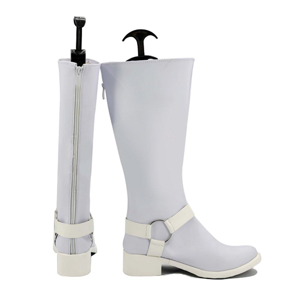 d1110cecbb8 Persona Yusuke Kitagawa Boots White PU Leather Shoes Cosplay Custome Made
