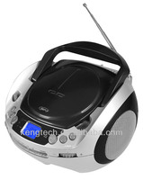 CT-288 Stylish Portable LCD Display AM FM Analogue Radio With USB MP3 Playback CD Boombox