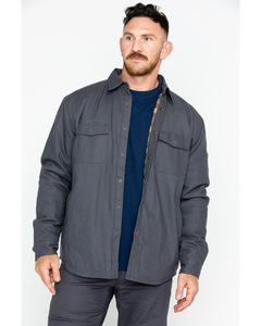 Mens Canvas Work Shirt Jacket/ Cheap cotton workwear jackets