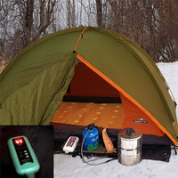 No Carbon Monoxide Portable Outdoor Camping Gas Heater for Sleeping Bag Tent by 80C/176F No Oxygen Depletion