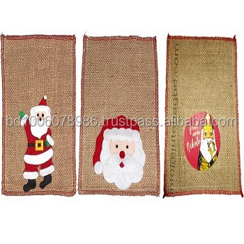 Jute Bag for Christmas Gift/ Christmas gift bags