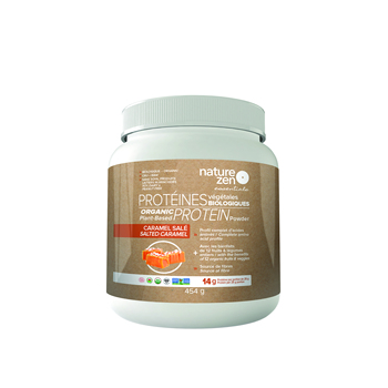 Organic Plant-Based Protein (454g) - Salted Caramel Flavor