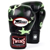 Twins Special Genuine Leather Boxing Gloves, camo design boxing gloves BFG-003