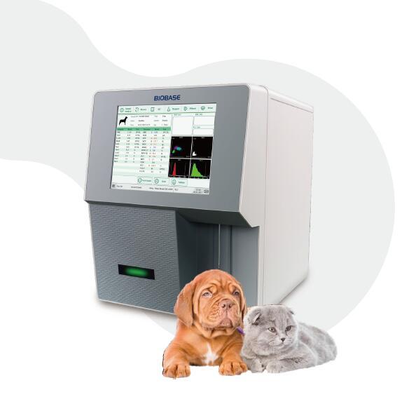 BIOBASE Veterinary Hematology analyzer with Free Hematology Reagent BK-6190