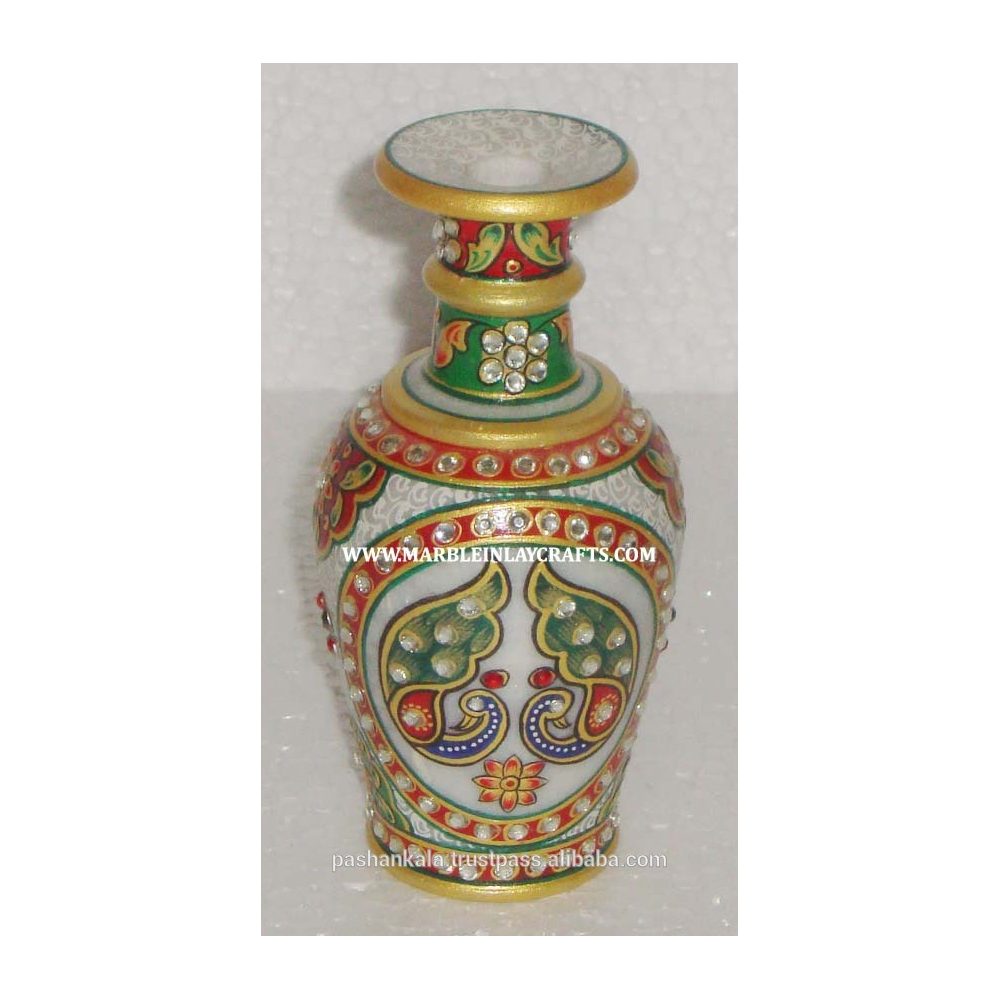 225 & Marble Handicrafts Gold Painting Flower Vase - Buy Marble Flower PotSmall Flower VasesMarble Vase Product on Alibaba.com