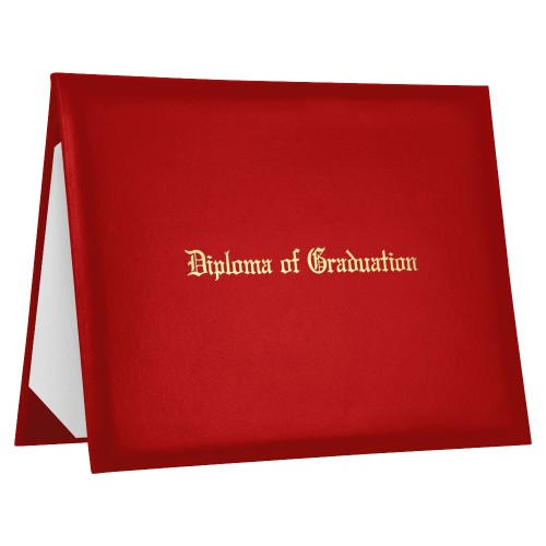Diploma Cover Certificate Holder Leather PU High Quality Black
