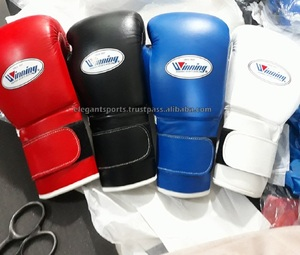 New Style Winning Boxing Gloves 10oz 12oz 14oz or 16oz any color