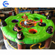 New Giant Inflatable Human Whack A Mole Game Inflatable Interactive Sport Games for Kids and Adult