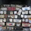 Used dry lead acid auto battery for cars/trucks sale