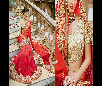 Designer Bridal Wear Saree