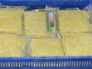 Frozen Green Papaya Whole/Cube/Chunks/Strips