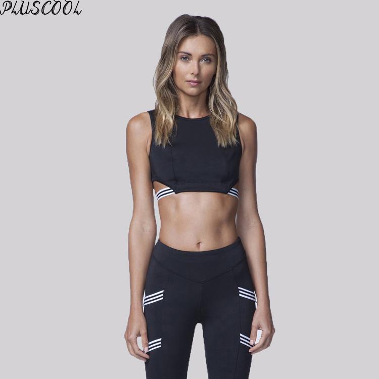 2019 最新の新女性のヨガの服卸売スポーツブラ良質カスタムブランドのヨガの服