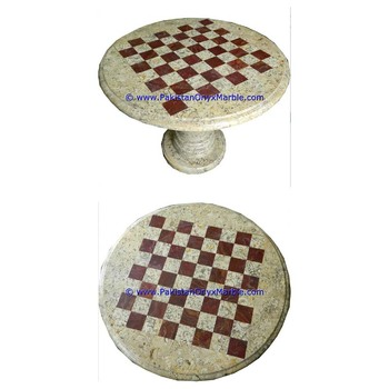 Multi Style marble tables modern chess table coffee natural stone chess figures