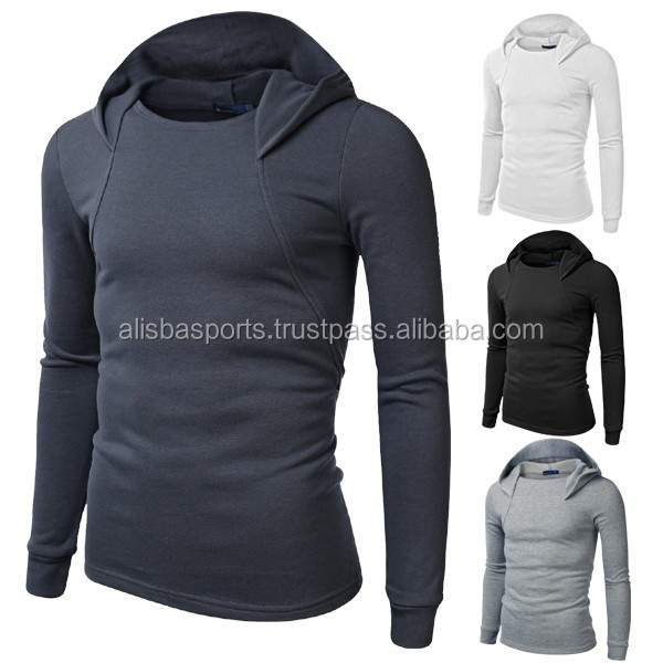 Tracksuits Sportswear Suits Solid Color Man Hoody 4 Colors Spring 2017 Mens Hoodies White Gray Casual Hooded