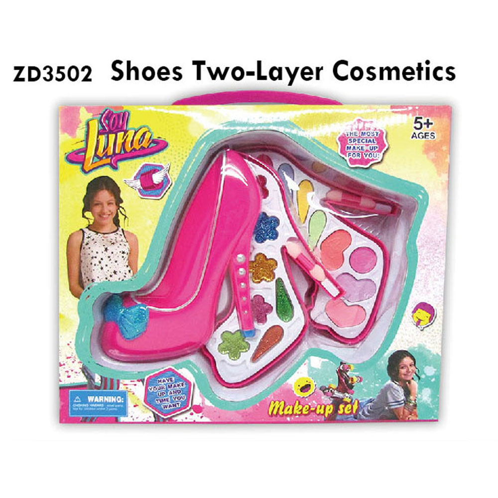 Colorful Shoes Two Layer Cosmetics Toy