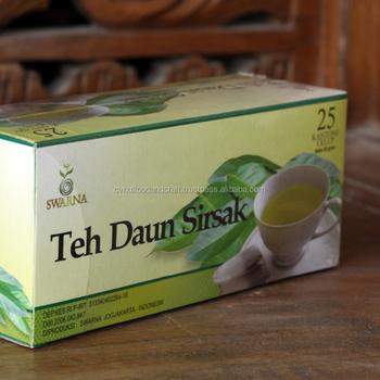 Swarna Soursop Tea Bag For Cure Cancer Medicinal Dosage From Graviola Leaves