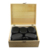amazon top seller 2019  stone massage kit 21 pcs black stone Professional-Grade Smooth