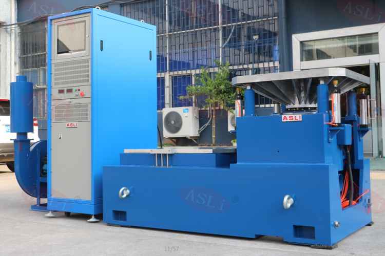 High Accuracy 3 Axis Large Force 5000kg.F Exciting Force Electro-Dynamic Shaker Systems