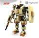MyBuild mecha frame toys for men battle fighting robot boys birthday gifts robot building block toy