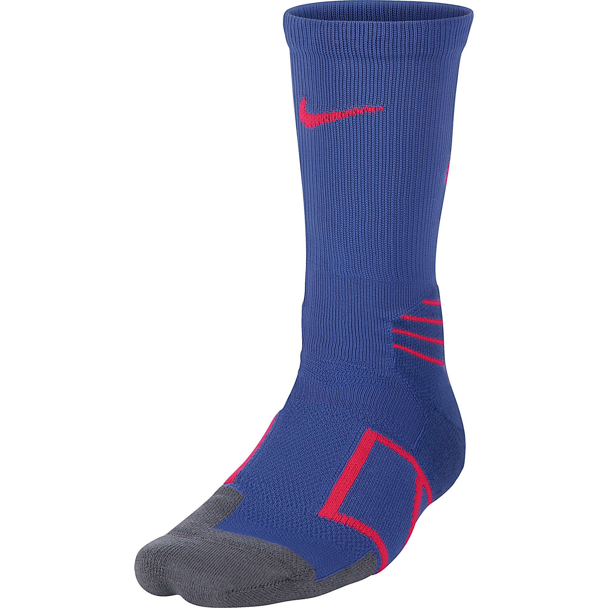 574ec6d2e57f Get Quotations · Nike Mens Elite Vapor Baseball Crew Socks Game Royal Solar  Red SX4843-464 sz