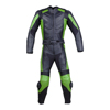 Latest 2 color design Men 2 PC Motorcycle motorbike racing suit Leather Racing Armor Suit 2 PC Two Piece US