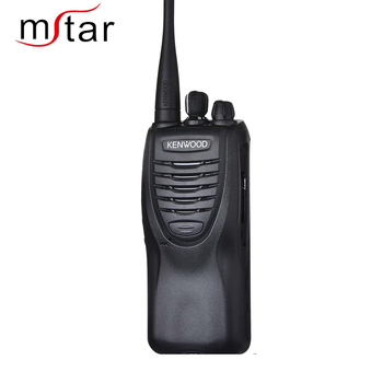 Kenwood TK-3307 Talk 5 Watt Two-way Radio, UHF, 16 Channels, Black Color