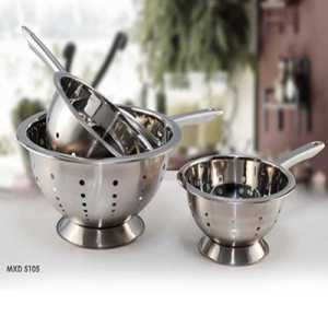 Stainless Steel Micro Perforated Fruit Vegetable Colander Basket