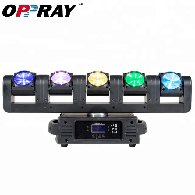 Cina Fase attrezzature 5x12 w rgbw pixel lama mini led bar luci a testa mobile fascio