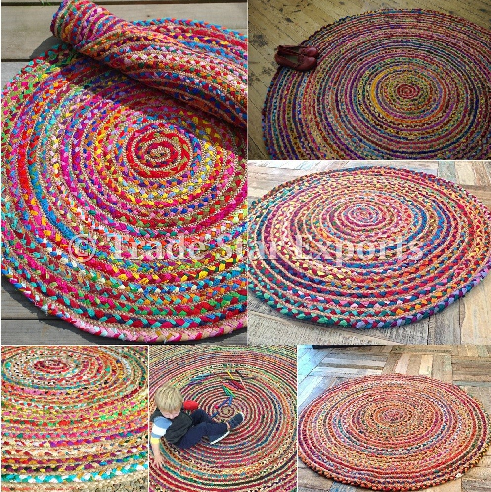 Rugs Indian Cotton Dhurrie Carpet