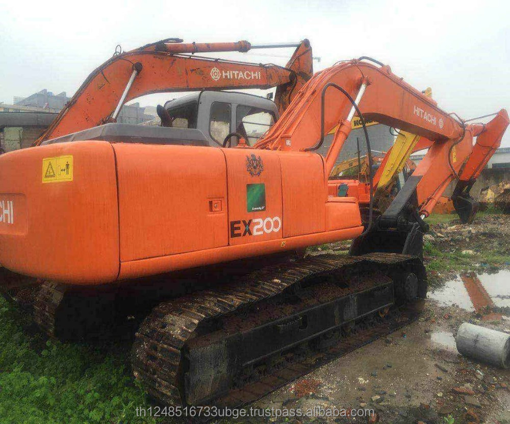 usd hitachi ex200 excavator cheap price for sale /second hand hitachi ex200-5 for sale