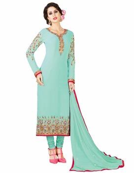 Straight Cut Salwar Kameez 2017 Latest Casual Daily Wear Salwar