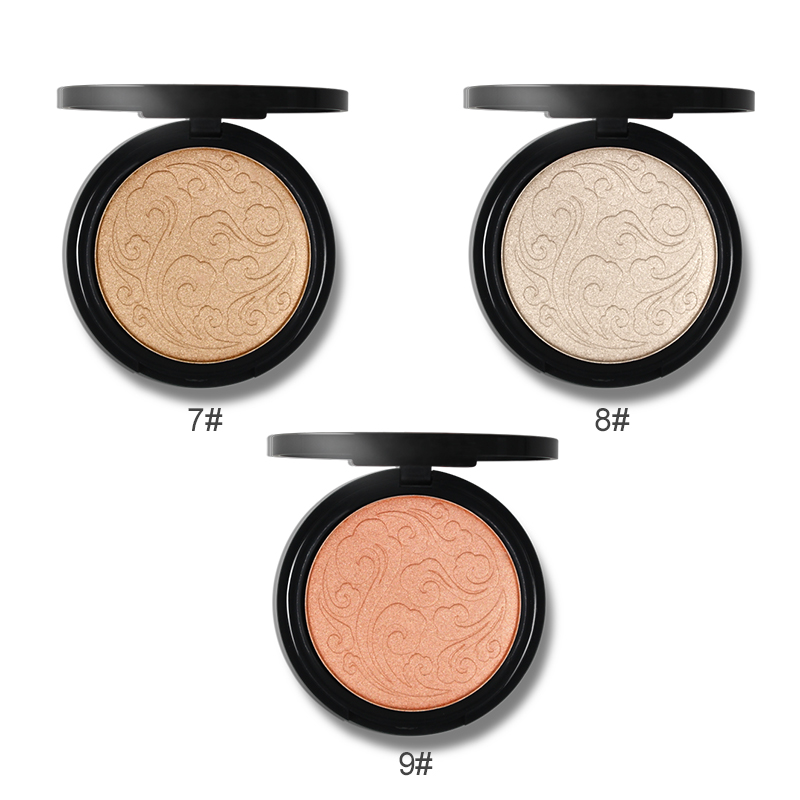 Wholesale eco-friendly cosmetic highlights cosmetic highlighters loose powder cosmetic highlight