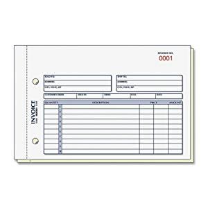 "Rediform Invoice Form - 50 Sheet(s) - Stapled - 2 Part - Carbonless - 5.50"" x 7.87"" Sheet Size - 1Each"