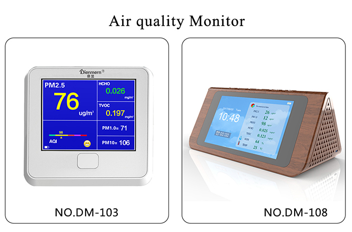professional PM2.5 Detector for family car office