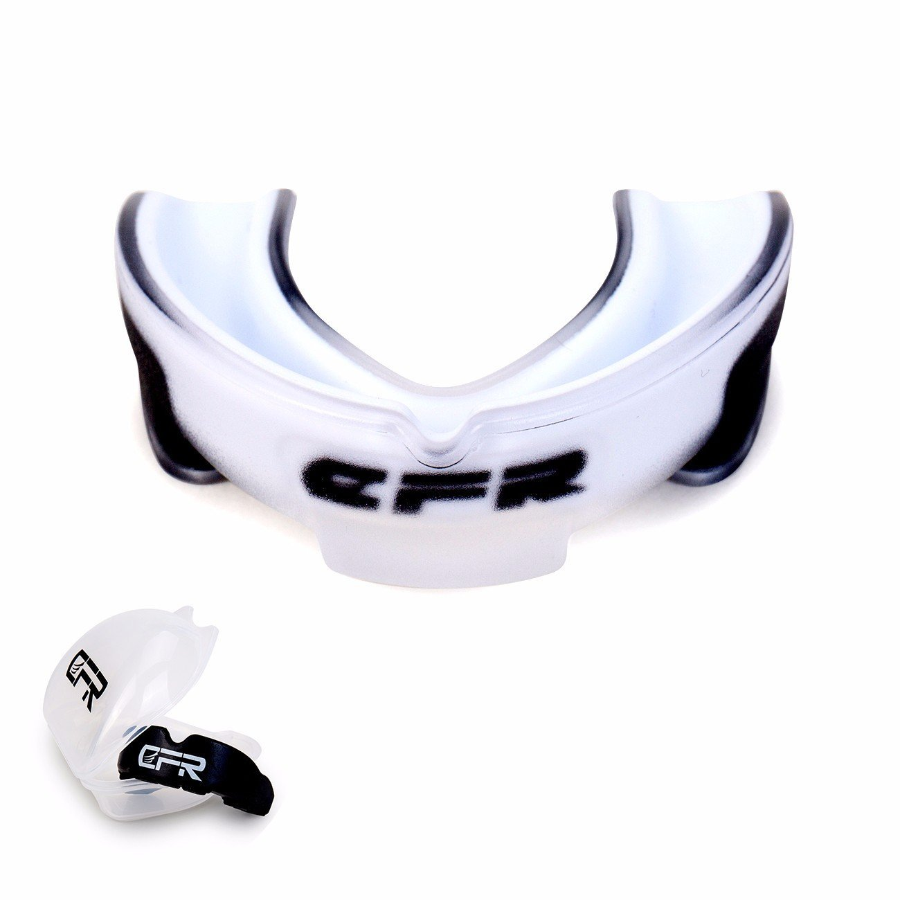 Fittoo Mouthguard Gumshield Dental Armor Sport Mouth Guard Double-Layered Fit Any Size Mouth Breathable Air Channel Stylish Protection for Teeth and Gums. Boxing, MMA, Football, Multi-Sports