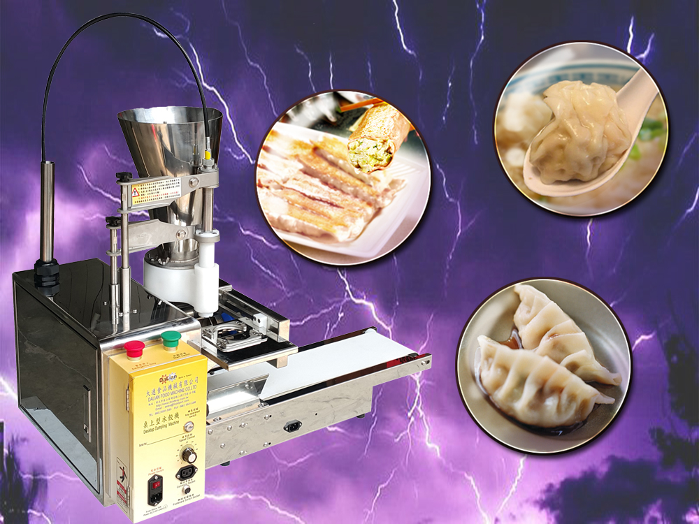 Tabletop samosa price dumpling machine