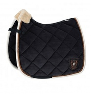 NEW square quilted Dressage Saddle Pad Cotton Horse Dressage English Saddle Pad Wholesale PRICE