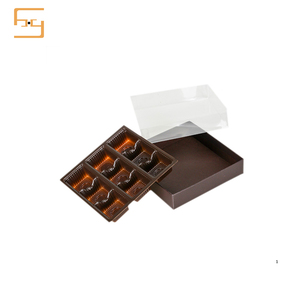 New Design Plastic Blister Food Chocolate Packaging Insert Tray